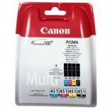 картридж для принтера Canon Multi Pack CLI-451 C/M/Y/BK