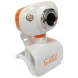 web-камера CBR CW 833M, оранжевая