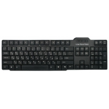 клавиатура CBR KB 115D Black USB