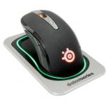 мышка Steelseries Sensei Wireless 62250 (черная, беспроводная, лазерная, 50-8200 dpi, USB, 8 кнопок)