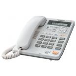 проводной телефон Panasonic KX-TS2570RUW, белый