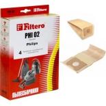 аксессуар к бытовой технике Filtero PHI 02 Standard, комплект пылесборников