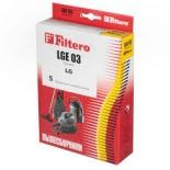 аксессуар к бытовой технике Filtero LGE03 Standart (комплект пылесборников)