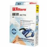 аксессуар к бытовой технике Filtero LGE01 Экстра, комплект пылесборников