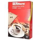 аксессуар к бытовой технике Filtero №4/80, фильтры для кофеварки