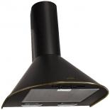вытяжка кухонная Elikor Эпсилон 60П-430-П3Л (купольная), черная с бронзой