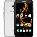 смартфон Alcatel Pixi 4 5045D 8Gb, серебристый/черный