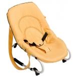 детское кресло-шезлонг Hauck Rocky банановое