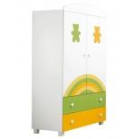 мебель компьютерная Mibb Amici orsi Colorato, шкаф для детской комнаты