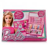 набор игровой для игры на улице Markwins Barbie детской декоративной косметики в кейсе