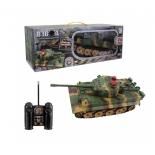 радиоуправляемая модель 1 Toy Взвод Танк Пантера Зеленый