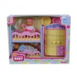 кукла Simba Два пупса в детской спальне (24406)