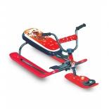 снегокат RT Penguin Sport моторуль красный
