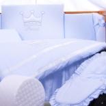 аксессуар к детской кроватке Tuttolina Princess (3 предмета) голубой
