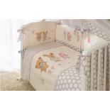 аксессуар к детской кроватке Perina КПБ Венеция 4 предмета бежевый
