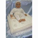 конверт для новорожденного Балу Облачко, на выписку, кремовый