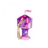 кукла Simba Еви с длинными волосами в сказочной башне