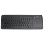 клавиатура Microsoft All-in-One Media Keyboard, черный