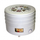 Сушилка для овощей и фруктов Ротор Дива СШ-007-05 с вент., 3 секции, цв. упаковка