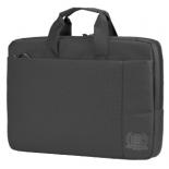 сумка для ноутбука Continent CC-215 серая, 15.6