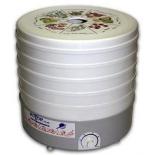 Сушилка для овощей и фруктов Ротор Дива СШ-007-04, 5 поддонов