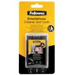 чистящая принадлежность для ноутбука Fellowes FS-99106 (набор для чистки смартфонов - спрей, салфетка, чехол)