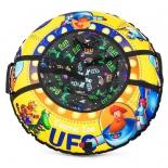 тюбинг Cosmic Zoo UFO капитан Клюква желтый