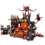 конструктор Lego Нексо Логово Джестро (1186 дет)