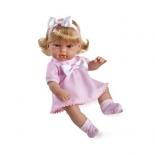 кукла Arias блондинка в розовой одежде с бантом (33 см)