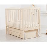 детская кроватка Гандылян Чу-ча белая