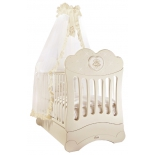 детская кроватка Feretti Chaton, слоновая кость