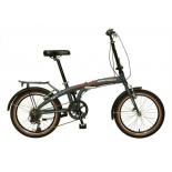 велосипед NOVATRACK 20 складной алюминиевый Shimano 6 speed (стальная вилка, вынос..)