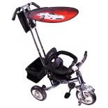 Трехколесный велосипед Liko Baby LB-772, красный