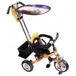 Трехколесный велосипед Liko Baby LB-772, бронзовый
