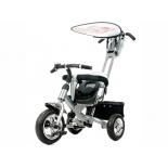 Трехколесный велосипед Liko Baby LB-772, серебро
