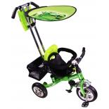 Трехколесный велосипед Liko Baby LB-772, зелёный