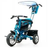 Трехколесный велосипед Liko Baby LB-772, голубой