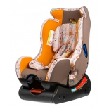 автокресло Liko Baby LB 718, оранжево-белое