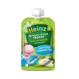 пюре Heinz, яблоко, груша, творог (6 мес)