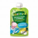 пюре Heinz, яблоко, груша, сливки (6 мес)