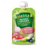 пюре Heinz, яблоко, черника (5 мес.)
