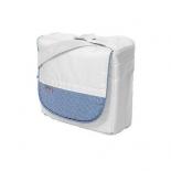 сумка для мамы Teutonia 5205, белая с голубым