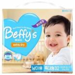 подгузник Beffy's extra dry д/мальчиков XL более 13кг/32шт