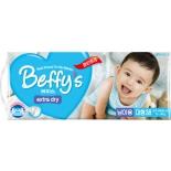 подгузник Beffy's extra dry д/мальчиков L 9-14кг/38шт
