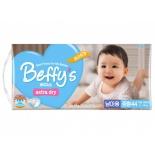 подгузник Beffy's extra dry  д/мальчиков М 5-10кг/44шт