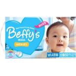 подгузник Beffy's extra dry  д/детей S 3-8кг/50шт