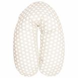 подушка для мамы Candide Comfort (для кормления), Бежевый горох