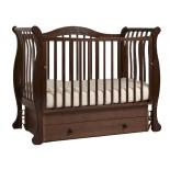 товар для детей Детская кроватка Гандылян Габриэлла Люкс Махагон (5281)