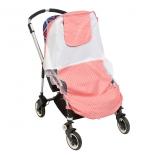 аксессуар к коляске Mammie Солнцезащитный тент розовый