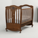 детская кроватка Mibb Magic Noce Antico темный орех
